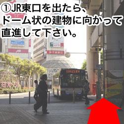 JR千葉駅 東口バスターミナル